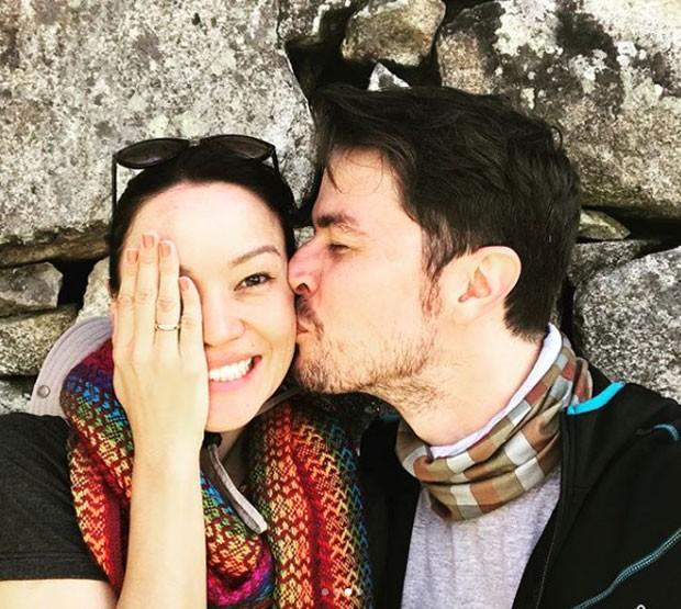 Geovanna Tominaga e Eduardo Duarte (Foto: Reprodução Instagram)