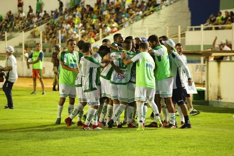 Na última partida disputada, o Altos venceu fora de casa por 2 a 0 o Assu (Foto: Luís Júnior/ AA Altos)