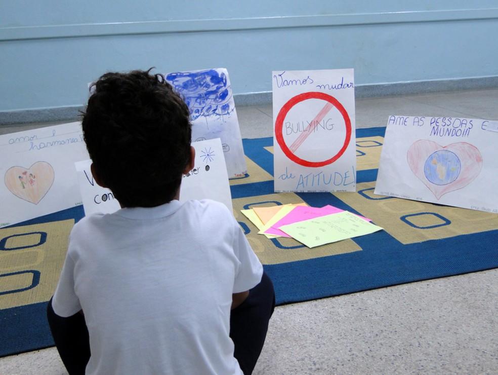 Projeto de prevenção ao bullying em escola no interior de São Paulo (Foto: Osnei Réstio/Prefeitura de Nova Odessa)
