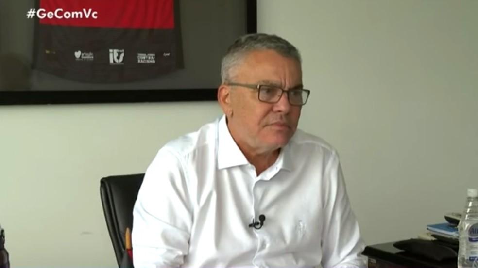 Paulo Carneiro explica afastamento — Foto: Reprodução