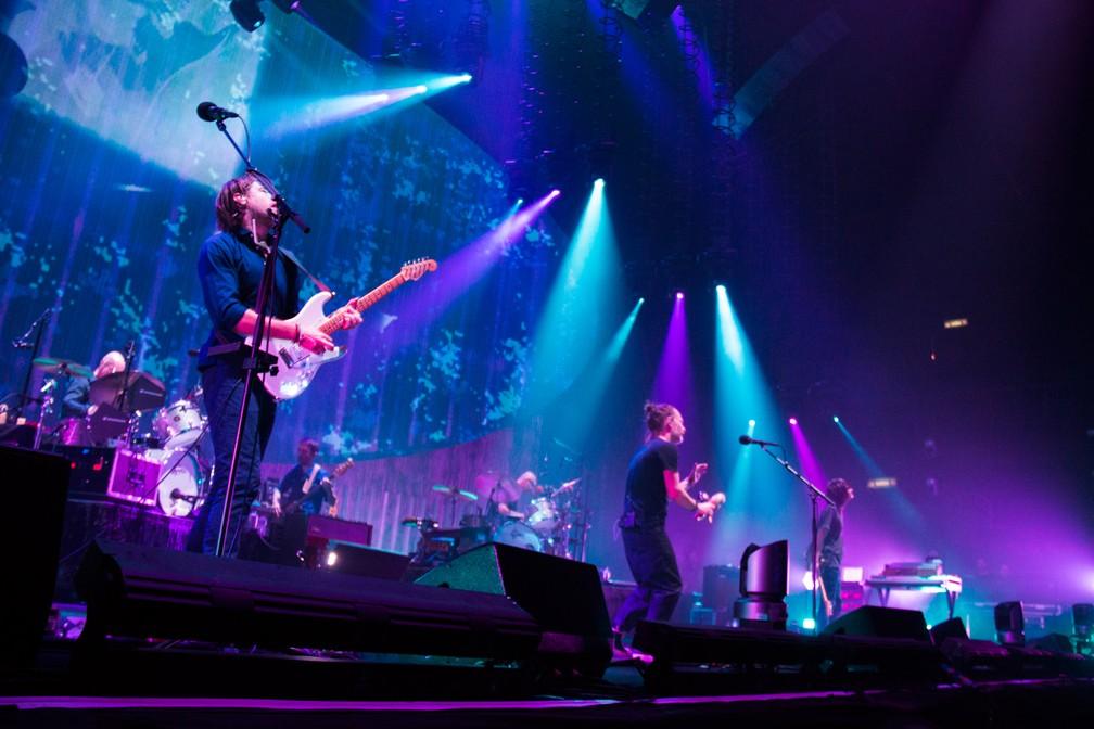 Radiohead atraiu 10 mil fãs ao show na Barra da Tijuca (Foto: Divulgação/Tuiki Borges)