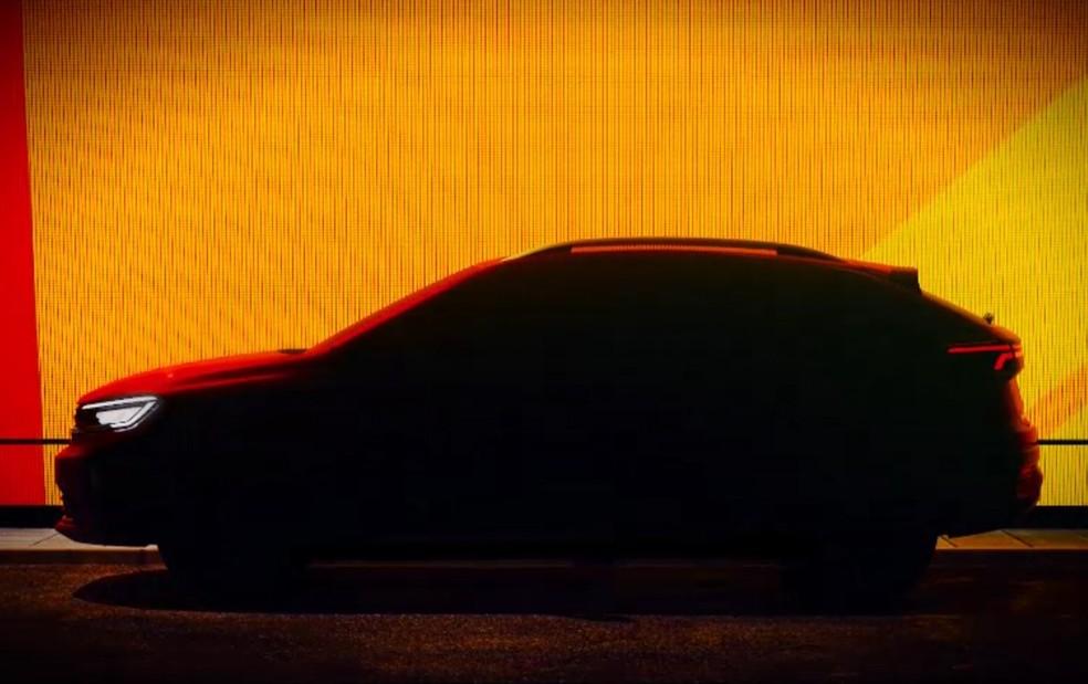 Volkswagen mostra seu próximo SUV, o Nivus — Foto: Divulgação