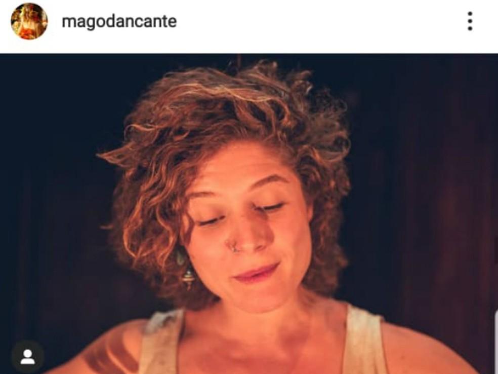 Maria Glória era bailarina e estudante universitária — Foto: Reprodução/Instagram