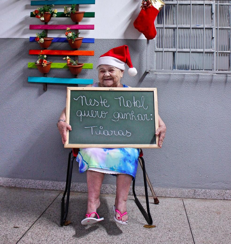 Campanha quer ajudar idosos em abrigos (Foto: Carol Pontes/Divulgação)