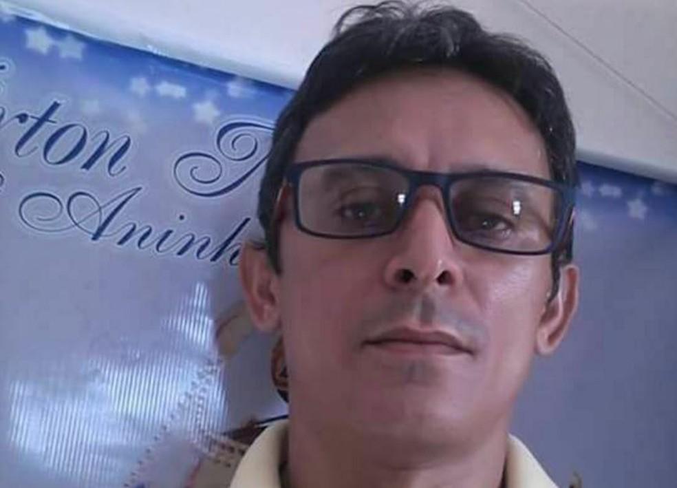Radialista Franzé foi assassinado com tiro nas costas, diz secretaria (Foto: Arquivo pessoal)