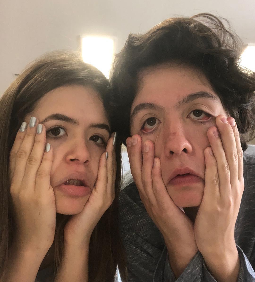 Maisa Silva e Nicholas Arashiro (Foto: Reprodução Instagram)