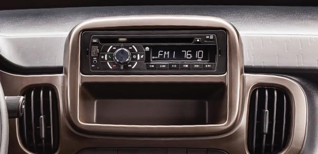 Rádio do Fiat Mobi (Foto: Divulgação)