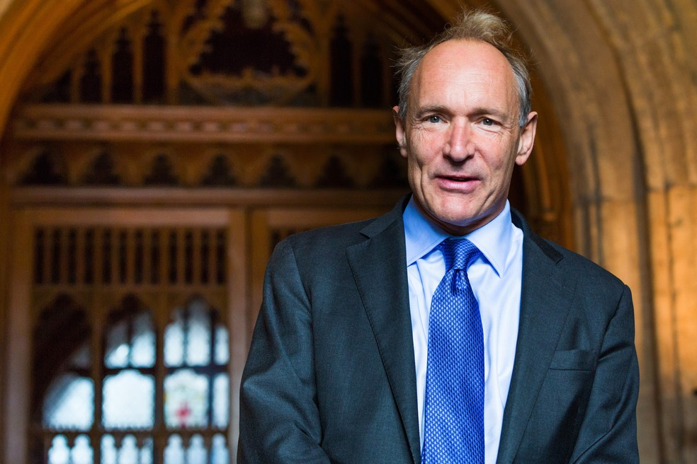 -  Tim Berners-Lee, o   34;pai  34; da internet.  Foto: Creative Commons