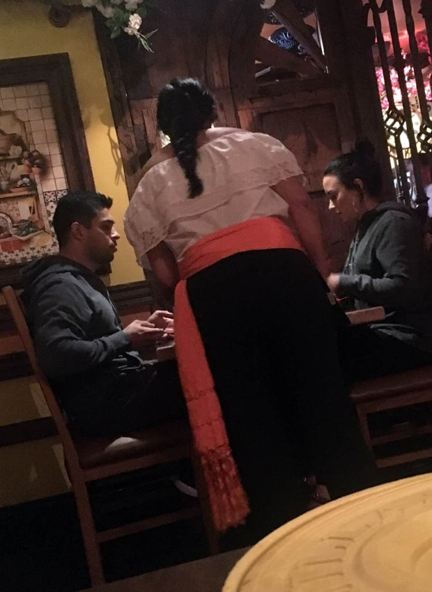 Demi Lovato e Wilmer Valderrama (Foto: The Grosby Group)