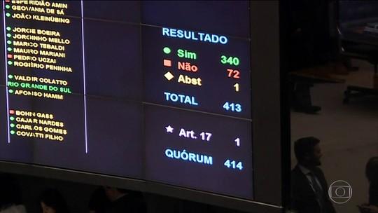 Intervenção na segurança do RJ é aprovada com folga na Câmara