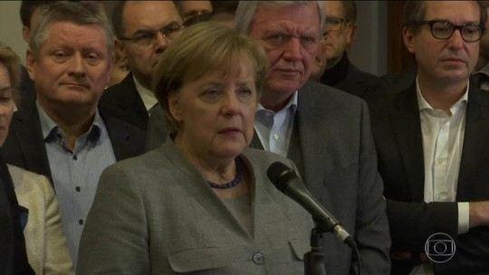 Merkel diz que 'novas eleições seriam um caminho melhor' do que governo de minoria