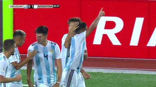 Argentina vence Uruguai, mas Chile lidera Hexagonal Final; Paraguai e Equador empatam