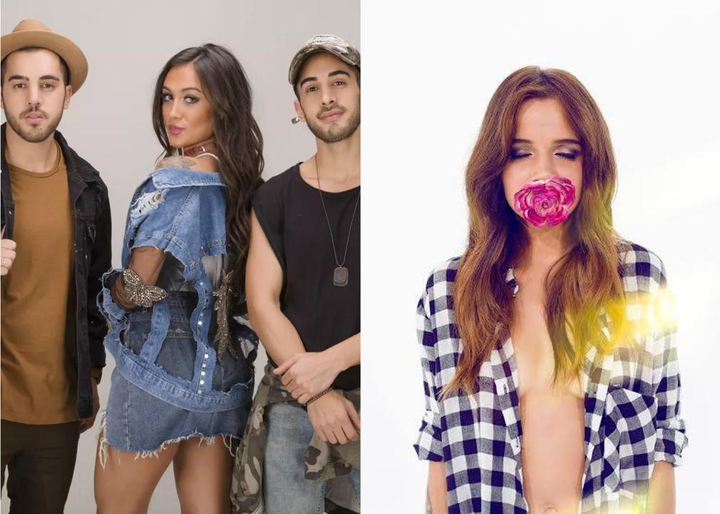 A banda brasileira Melim e a cantora portuguesa Carolina Deslandes vão se apresentar no Palco Sunset do Rock in Rio  — Foto: Divulgação