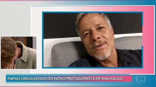 Pedro Novaes, filho de Letícia Spiller e Marcello Novaes, se emociona com recado dos pais