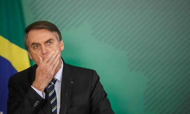 Bolsonaro recebe Juan Guaidó no Planalto