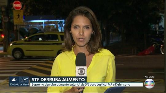 STF acata pedido de Pezão e suspende reajuste de 5% a servidores da Justiça do RJ