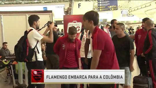 Fla embarca para a Colômbia e comentaristas analisam momento do time