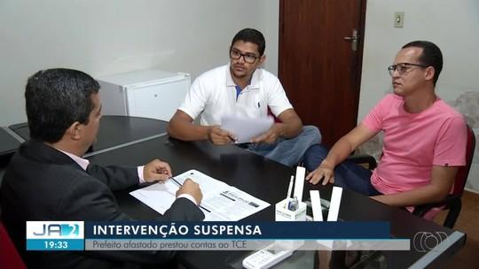 Prefeito apresenta contas e governo suspende intervenção em Ponte Alta do Bom Jesus
