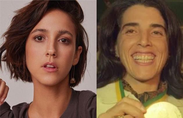 No mesmo filme, Camila Márdila viverá a ex-jogadora Magic Paula (Foto: Reprodução)