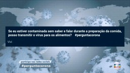Coronavírus não é transmitido por alimentos cozidos