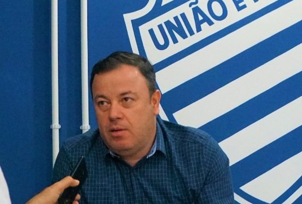 Fabiano Melo,  diretor executivo de futebol do CSA — Foto: Matheus Pimenta/CSA