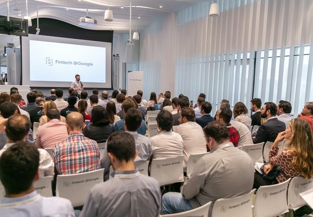 Evento do Google voltado a fintechs, realizado em São Paulo (Foto: Divulgação/Google)