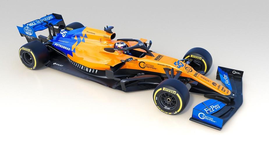 Confira as pinturas dos carros que disputarão a temporada 2019 da Fórmula 1