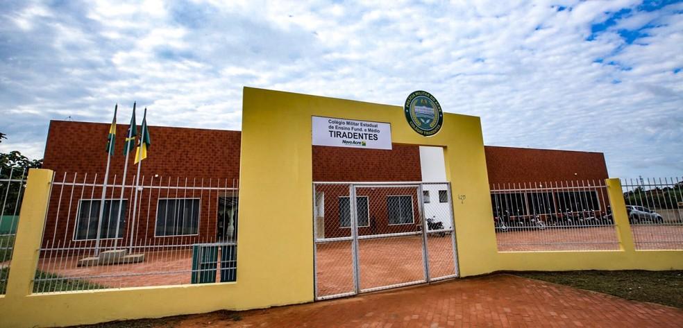 Inscrições vão estar abertas do dia 4 a 8 de fevereiro no Colégio Militar Estadual Tiradentes, em Rio Branco — Foto: Arquivo pessoal
