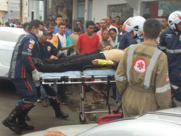 Agênte de trânsito foi baleado durante o trabalho (Foto: Fofa News/Divulgação)