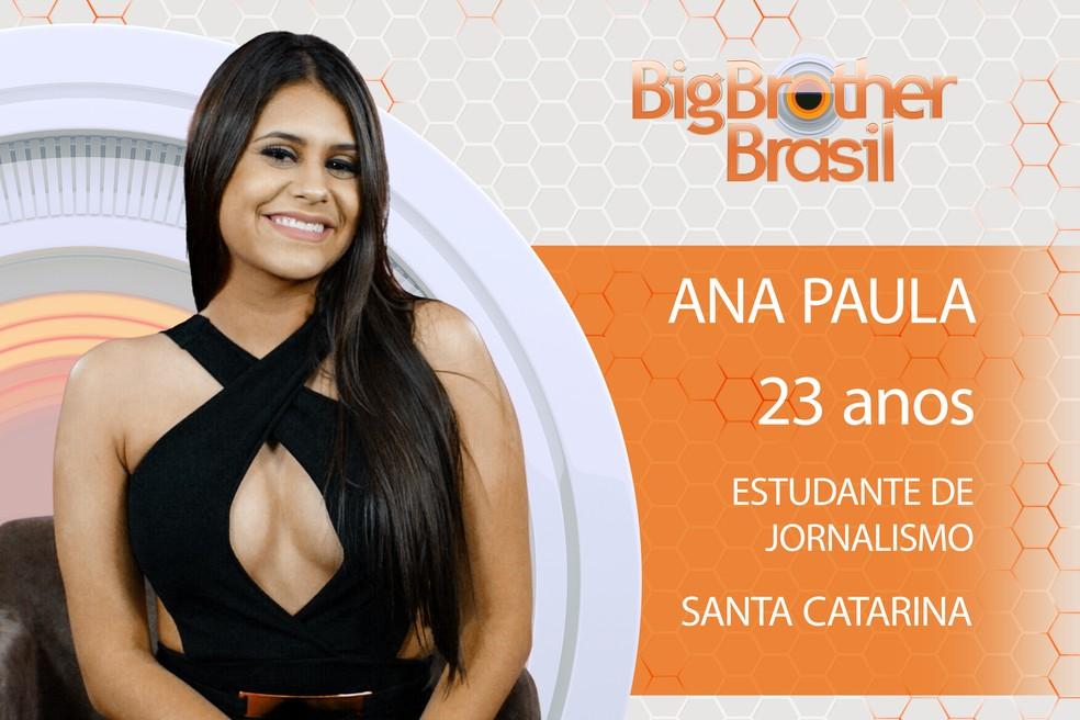 Ana Paula é participante do BBB18 (Foto: João Mello/Gshow)