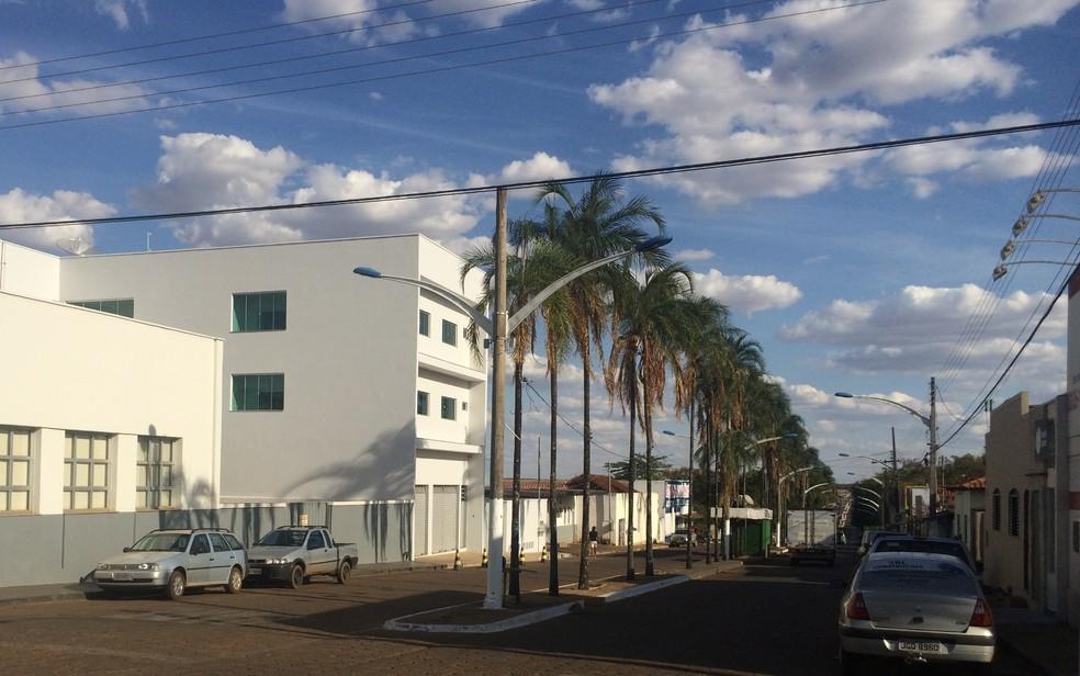 Vianópolis, cidade onde mora família que deve ser indenizada em R$ 180 mil por falta de médico em parto — Foto: Vanessa Martins/G1