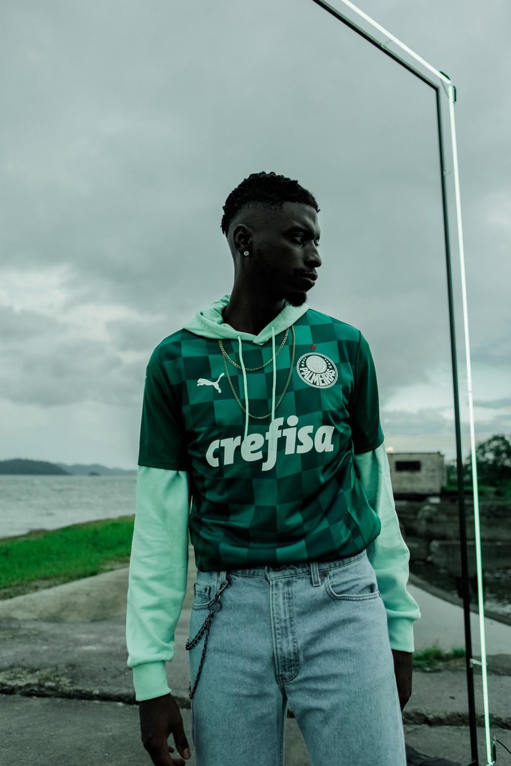 Novo uniforme do Palmeiras — Foto: Divulgação