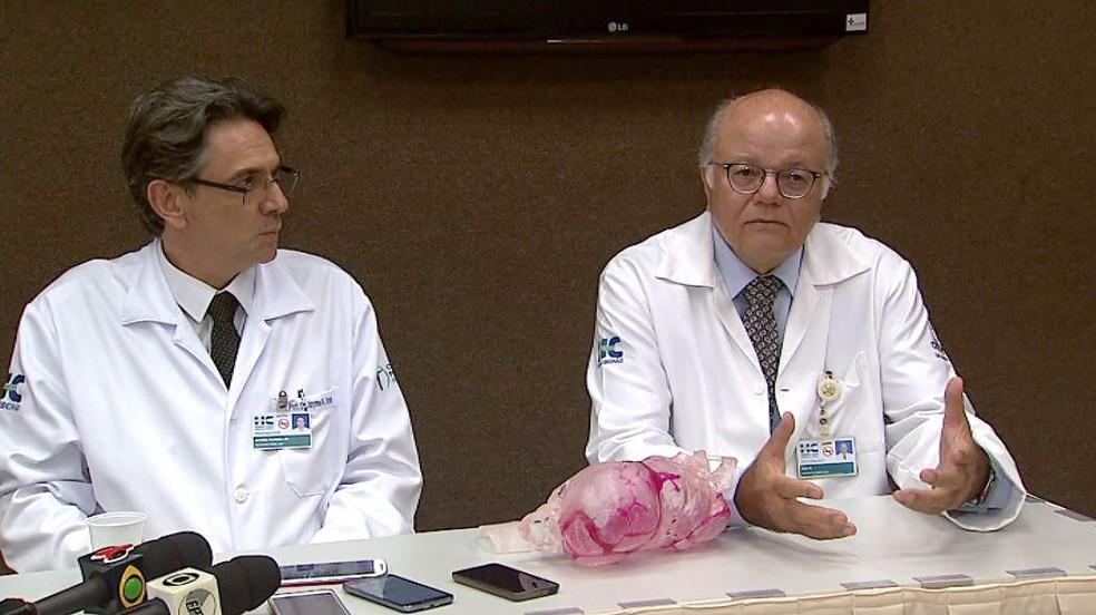 Os professores Jayme Farina Júnior e Hélio Machado, de Ribeirão Preto  (Foto: Reprodução/EPTV)