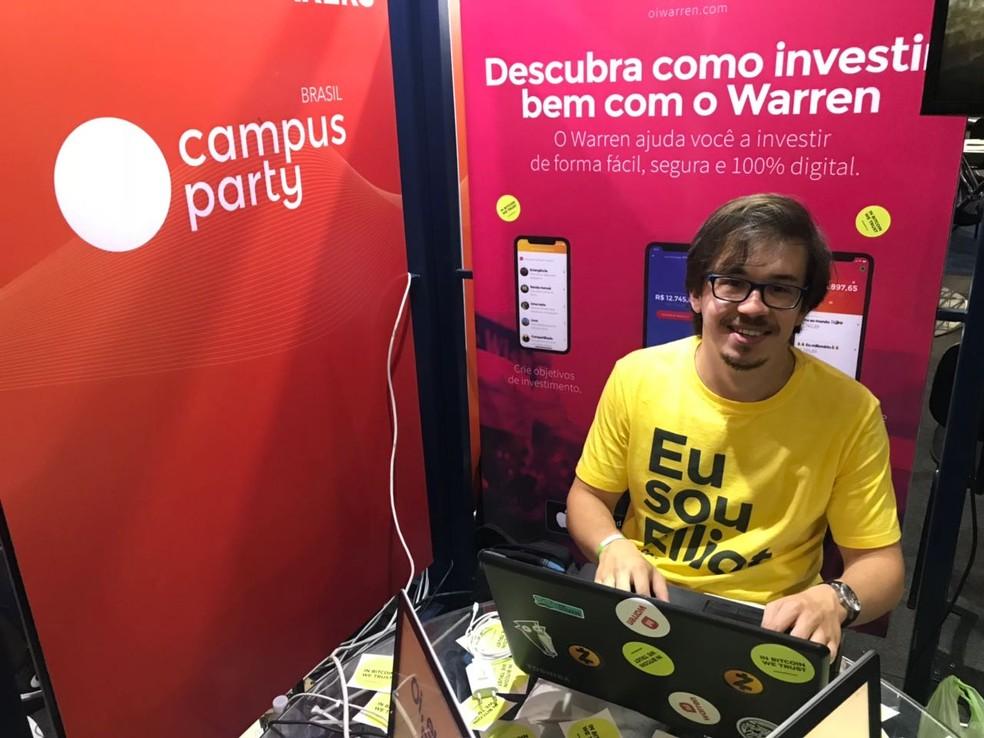 Eduardo Tocchetto, da Warren. (Foto: Helton Simões Gomes/G1)