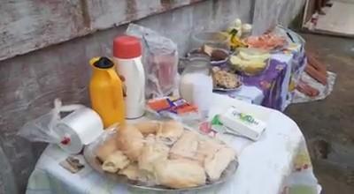 Moradores em São Luís dão comida e celebram o trabalho de agentes de limpeza na pandemia do coronavírus; VÍDEO