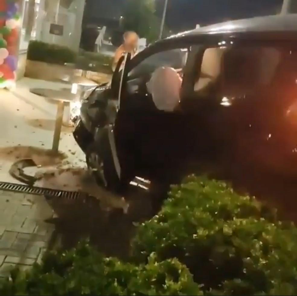 Condutores dos veículos entraram em acordo, segundo a PM — Foto: Arquivo pessoal