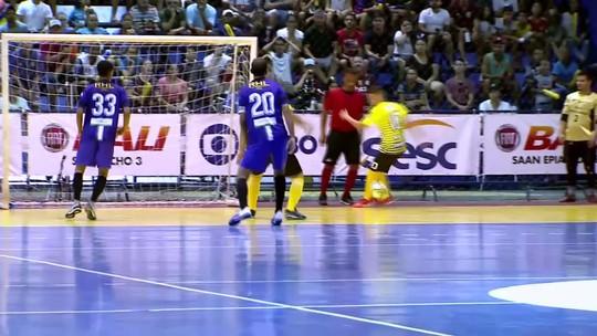 Brazlândia marca a 10 segundos do fim, vence o Planaltina e leva o título da Copa Brasília de Futsal