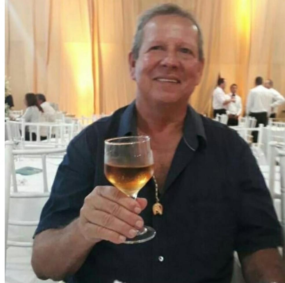 Namorado dela, José de Carvalho, de 71 anos, é o principal suspeito do crime em Primavera do Leste — Foto: Arquivo pessoal