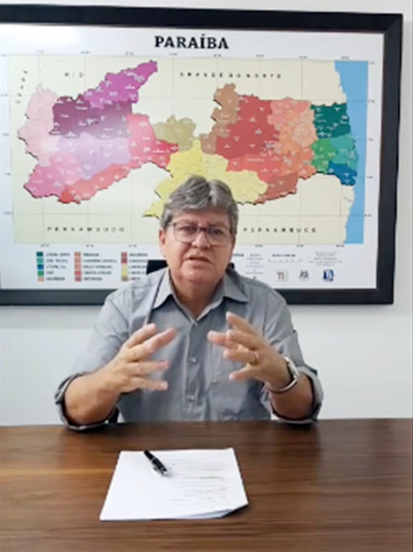 João Azevêdo (PSB) anunciou outros nomes de secretários pela redes sociais nesta sexta-feira (28) — Foto: Reprodução
