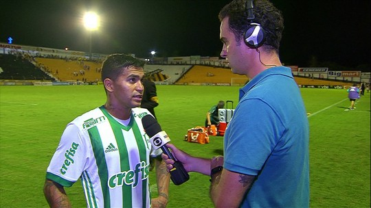 """Dudu, sobre vitória do Palmeiras: """"Fizemos um bom jogo, mas poderia ser melhor"""""""