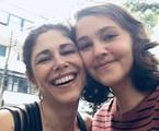 Juliana Martins com a filha, Luisa   Reprodução