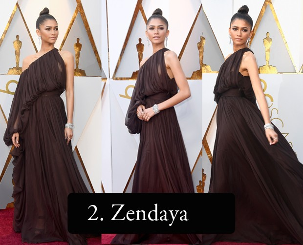 Zendaya no Oscar 2018 (Foto: Getty Images)