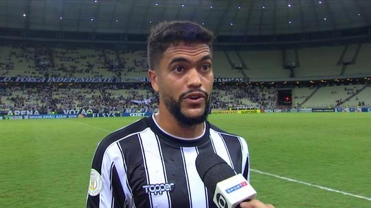 """Felipe Silva diz que o Campeonato Brasileiro tem suas dificuldades: """"é jogo a jogo"""""""