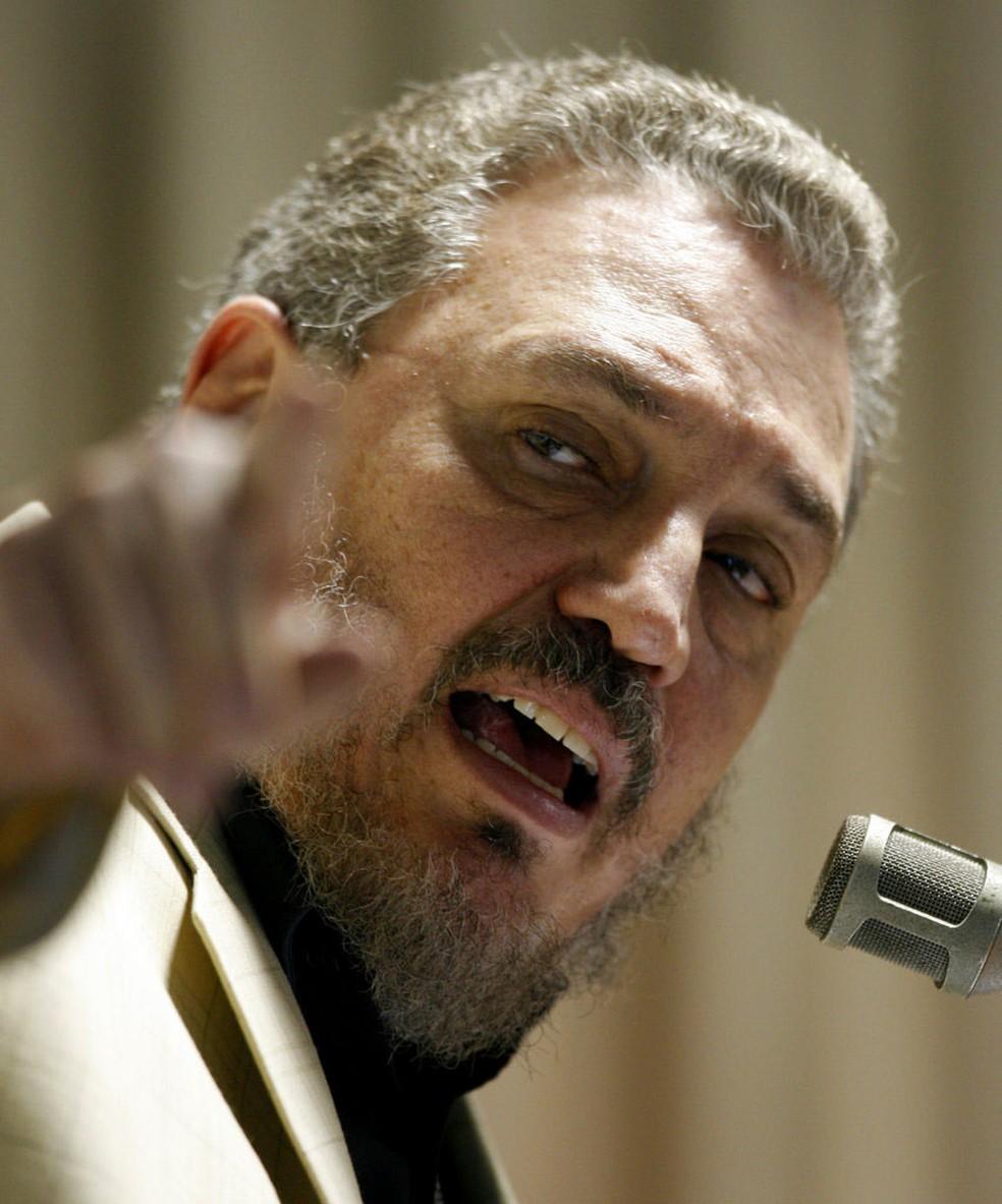 Fidel Castro Díaz-Balart, em imagem de arquivo de 9 de fevereiro de 2007 (Foto: Javier Galeano/ AP)