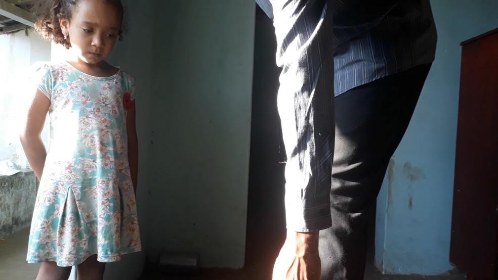 Isadora Roseno, de 4 anos, ganhou como melhor atriz na II Mostra de Cinema de Mata Limpa, em Areia, na PB — Foto: Thiago Rodrigues/Arquivo Pessoal