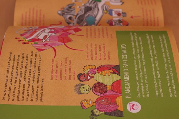 Livro de urbanismo para crianças  (Foto: Divulgação)