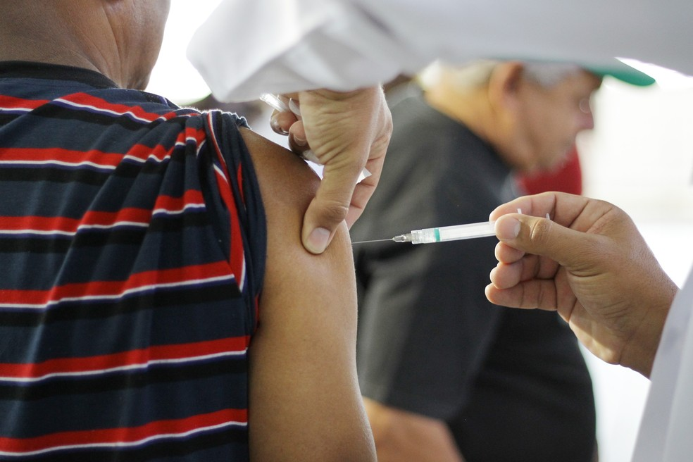Campanha de vacinação contra a gripe termina nesta semana — Foto: Irineu Junior/Arquivo