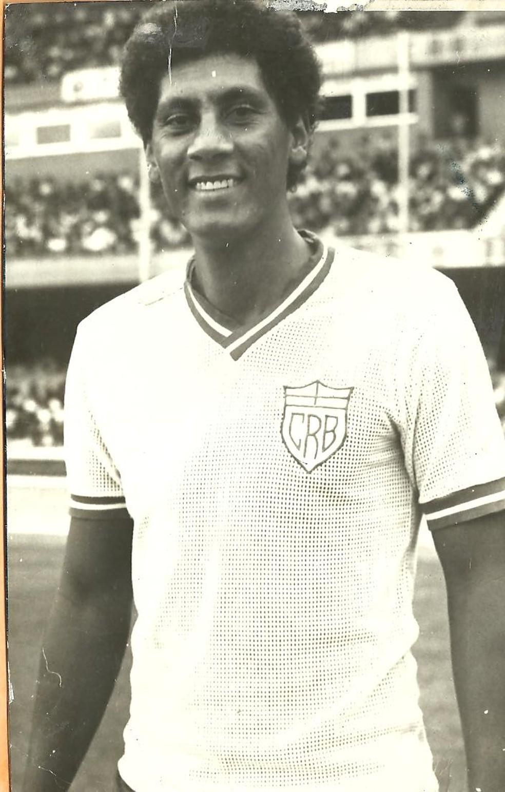 Joãozinho Paulista, ídolo do CRB — Foto: Arquivo / Museu dos Esportes