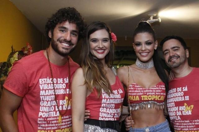 José Condessa, Juliana Paiva, Vitória Strada e Daniel Ortiz (Foto: Divulgação)