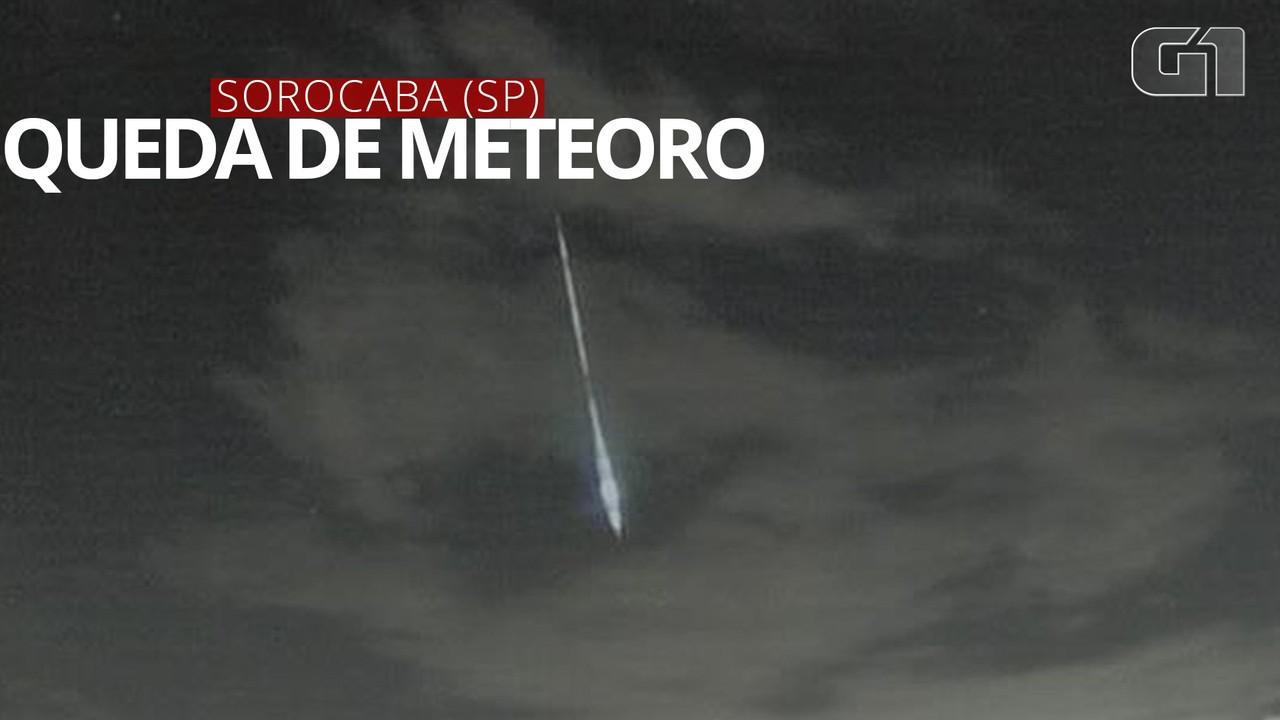 Físico registra queda de meteoro no interior de SP